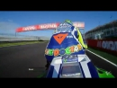 Гонка с борт камеры Валентино Росси Moto GP 2016 Valenciana GP