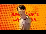 just 14 sec. of jungkook laughing from ep. 14