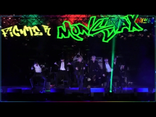 [VK][22.04.2017] MONSTA X - Fighter @ Let's Play Concert / 라이브엔 (Liveen)연예뉴스