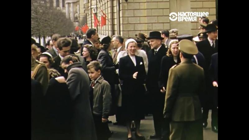 Москва в 1953 54 гг Съёмки советской жизни от американского майора Манхофа