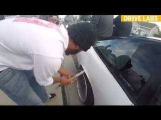 How to roll fenders on budget