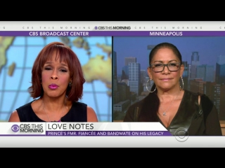 CBS This Morning - Sheila E. Remembers Prince