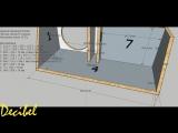 Короб ФИ для Alphard Hannibal FX30D2 со скошенной стенкой от Decibel