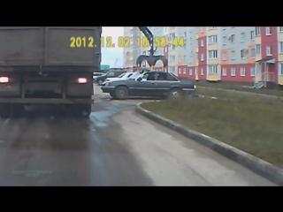 Таинственная Россия за 3 минуты глазами водителя.