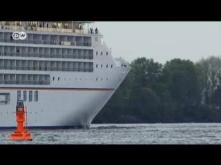 Ein fahrendes Luxushotel auf dem Meer