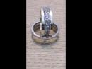 Двухсплавные обручальные кольца