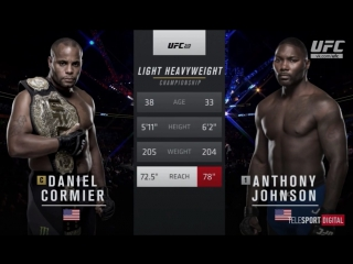UFC 210 CORMIER-JOHNSON обзор боя