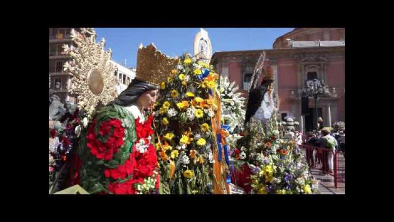 La Ofrenda de Flores a la Virgen de los Desamparados