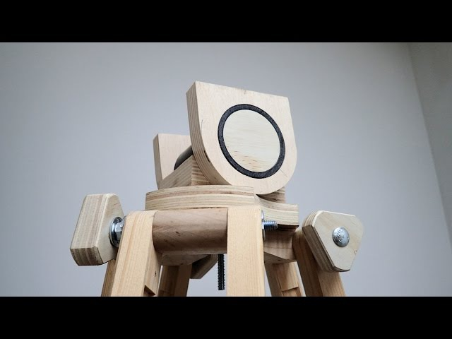 Making A Head For The Wooden Tripod, Part 1