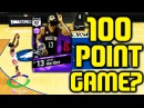 100 POINT GAME WITH AMETHYST JAMES HARDEN? NBA 2K17 MYTEAM GAMEPLAY