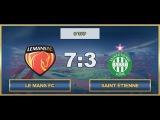 AFL17. France. Ligue 1. Day 9. Le Mans FC - Saint Etienne