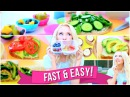 Easy Fast School Breakfast and Lunch Ideas!