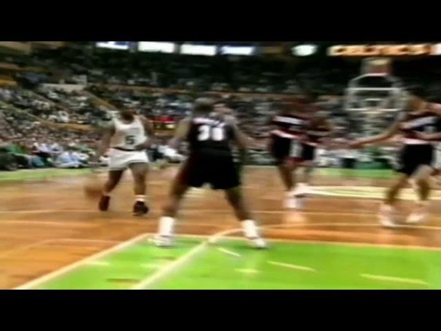 Clifford Robinson Blocked Kevin McHale ● Portland Trail Blazers 148:152 Boston Celtics ● NBA 1992