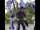 This Giant Robot Suit Uses No Electricity