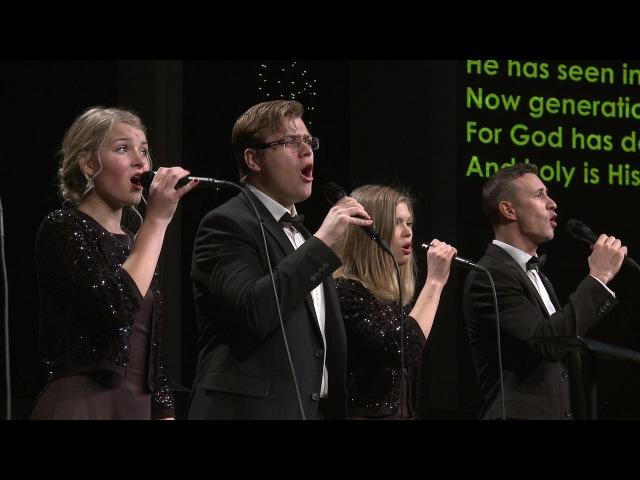 Песнь Марии / Gospel Magnificat (Елизавета Савенок / Вокальная группа церкви Слово благодати)
