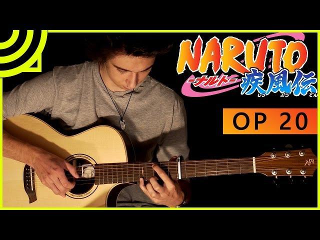 Naruto Shippuden Opening 20 - Kara no Kokoro (Fingerstyle Guitar Cover by Albert Gyorfi) [TABS]