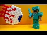 Обзор игры #Террария ! Стив и #Игробой Глеб против Монстров! ЛЕГО #Майнкрафт видео #длямальчиков
