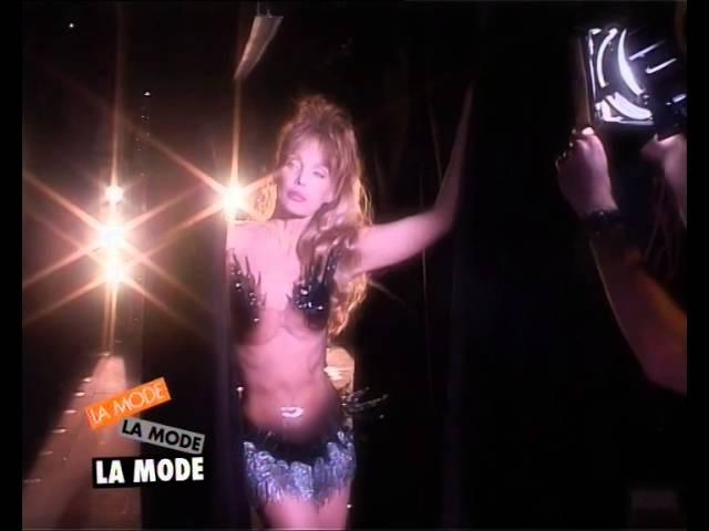 Arielle Dombasle au Crazy Horse