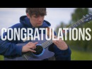 Congratulations - Post Malone - Fingerstyle Guitar Cover