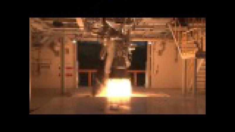 Запуск реактивного двигателя