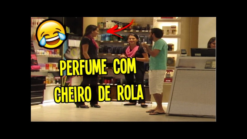 COMPRANDO PERFUME COM CHEIRO DE ROLA - MANDE A SUA 36