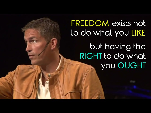 Jim Caviezel - Powerful Testimony (with scenes from Passion of the Christ)