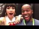 NEW YORK COMIC CON 2015 w VERA BAMBI VAMPIRELLA COSPLAY