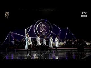 170114 SEVENTEEN(세븐틴) - Chuck Adore U(아낀다) Mansae(만세) Pretty U(예쁘다)@Golden Disc Awards [1080p]