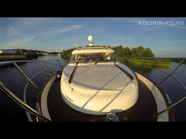 Переход на яхте Москва-Питер 2015