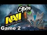 NaVi vs Mineski (Game 2) PGL Open Bucharest Dota 2