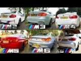 BMW M2 vs M3 vs M4 vs M5 vs M6 vs X6 M ACCELERATION &amp TOP SPEED POV AUTOBAHN