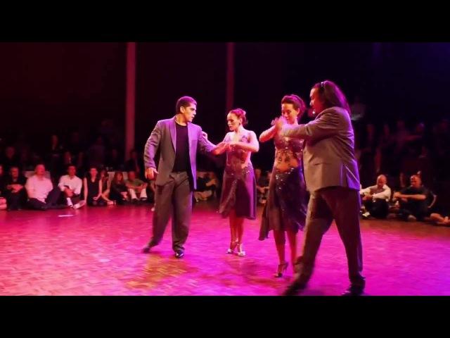Tango é para homens de verdade! Chicho Frúmboli Ruben Véliz - Basel, volkshaus, Ostertango 2014
