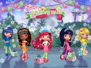 Strawberry Shortcake Holiday Hair Fashion World