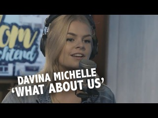 Davina Michelle - 'What About Us' (Pink cover) live @ Ekdom in de Ochtend