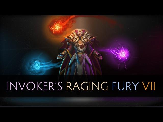 Dota 2 Invokers Raging Fury 7