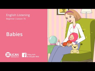 Learn English Listening | Elementary - Lesson 76. Babies