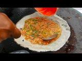 Indonesian Street Food - FLUFFY EGG CRISP Lumpia Telor