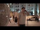 Daniil Korolev - Throat singing street perfomance