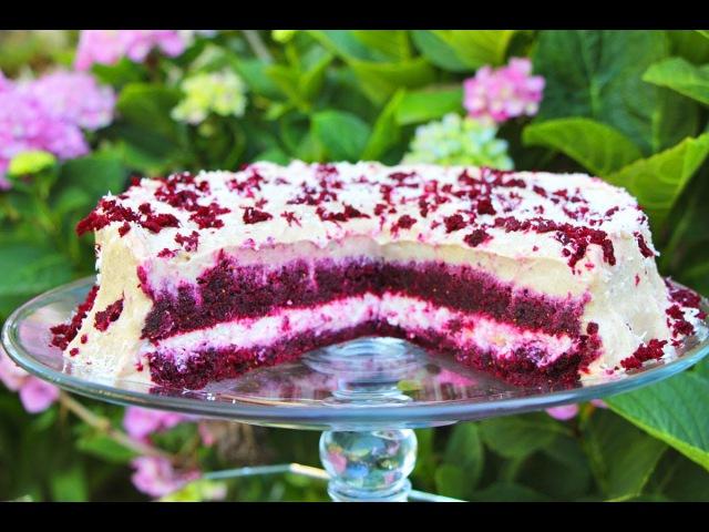 Red Velvet Beet Cake Raw Vegan