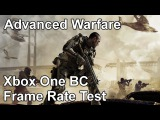 Call of Duty Advanced Warfare Xbox One vs Xbox 360 Backwards Compatibility Frame Rate Test
