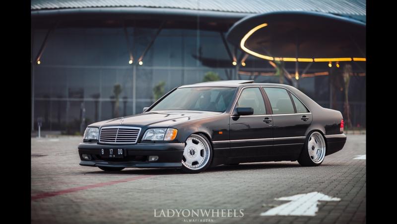 Mercedes-Benz W140 S320 на дисках Lorinser Rsk.