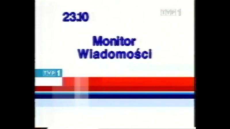 Программа передач и конец эфира (TVP1 [Польша], 13.04.2003)