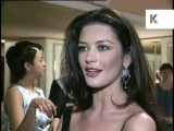 1990s Catherine Zeta-Jones Interview at Baftas