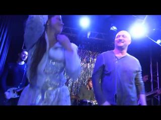 Карина Зверева и Гоша Куценко в Новогоднем кабаре