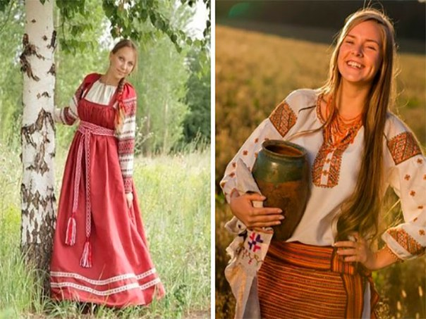Женская одежда, которая защищает энергетику