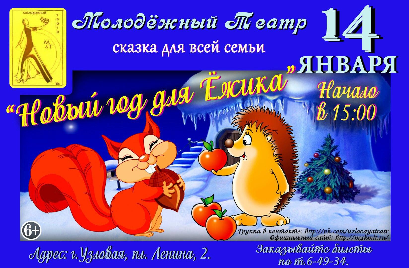 Новый год для Ёжика