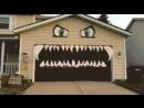 Креативная раскраска гаража