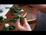 Создание веночка из роз
