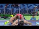 РИО-2016 65 кг 1_8 финала Фрэнк Молинаро (США) - Магомедмурад Гаджиев (Польша)