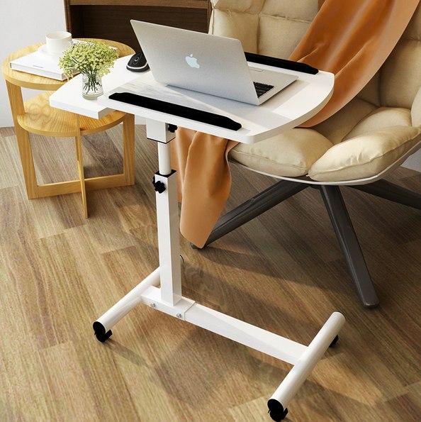 Удобный передвижной столик для ноутбука